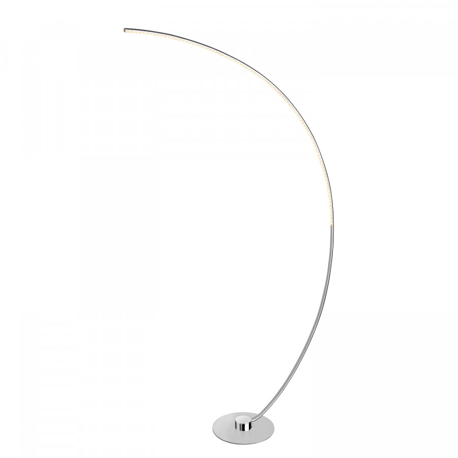 Curve Satin stehleuchte Metall Led silikonSilber rdBQthCxs