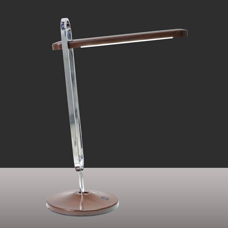 Tischleuchte Led Tischleuchte Stan Stan Led Led KunststoffMetallBraun KunststoffMetallBraun TlcK1JF3
