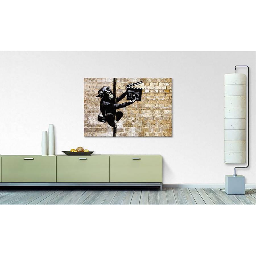 Leinwandbild 13 Banksy LeinwandBeigeSchwarz LeinwandBeigeSchwarz Leinwandbild Leinwandbild Banksy No 13 No tdhQsrC