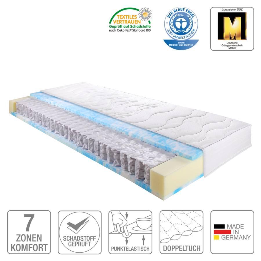 Clean Taschenfederkernmatratze Llq 80 X 200cmH3 lKF1Jc