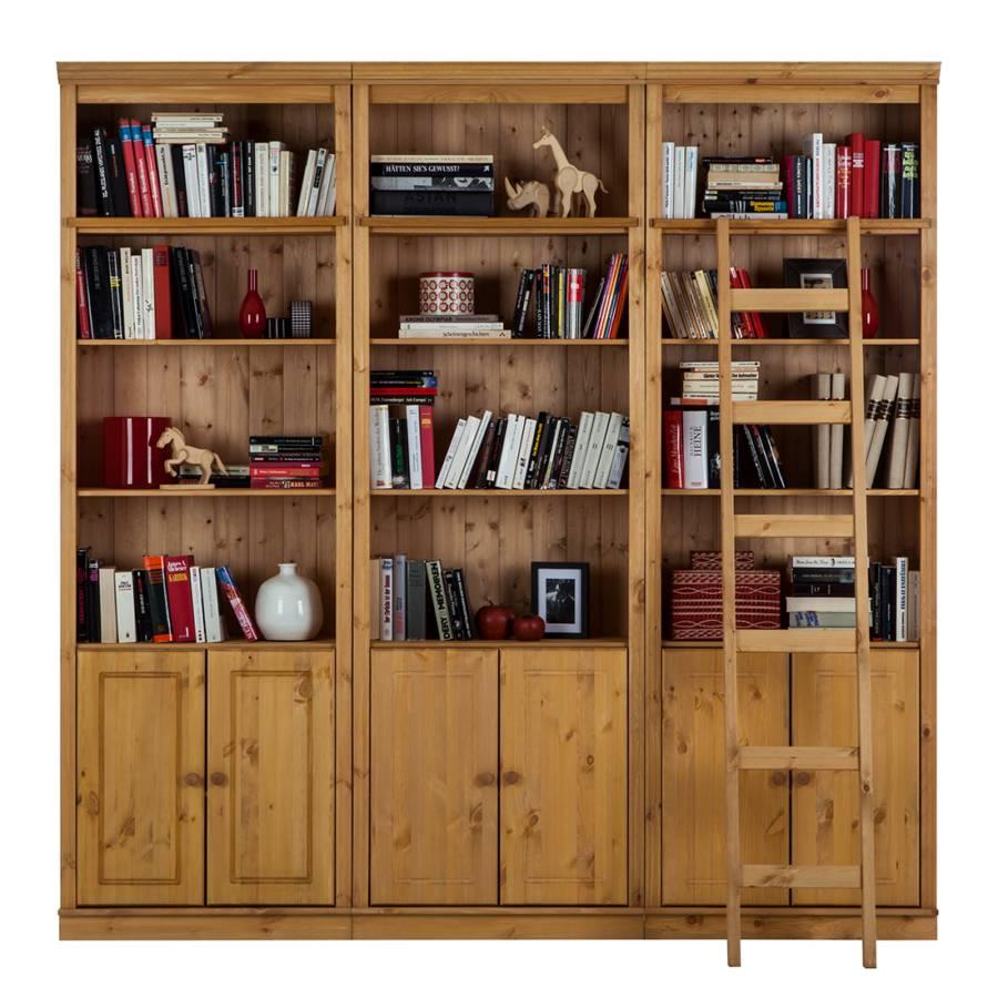 Lillehammer Kiefer I Bücherwand MassivNatur Bücherwand CxdoWreB