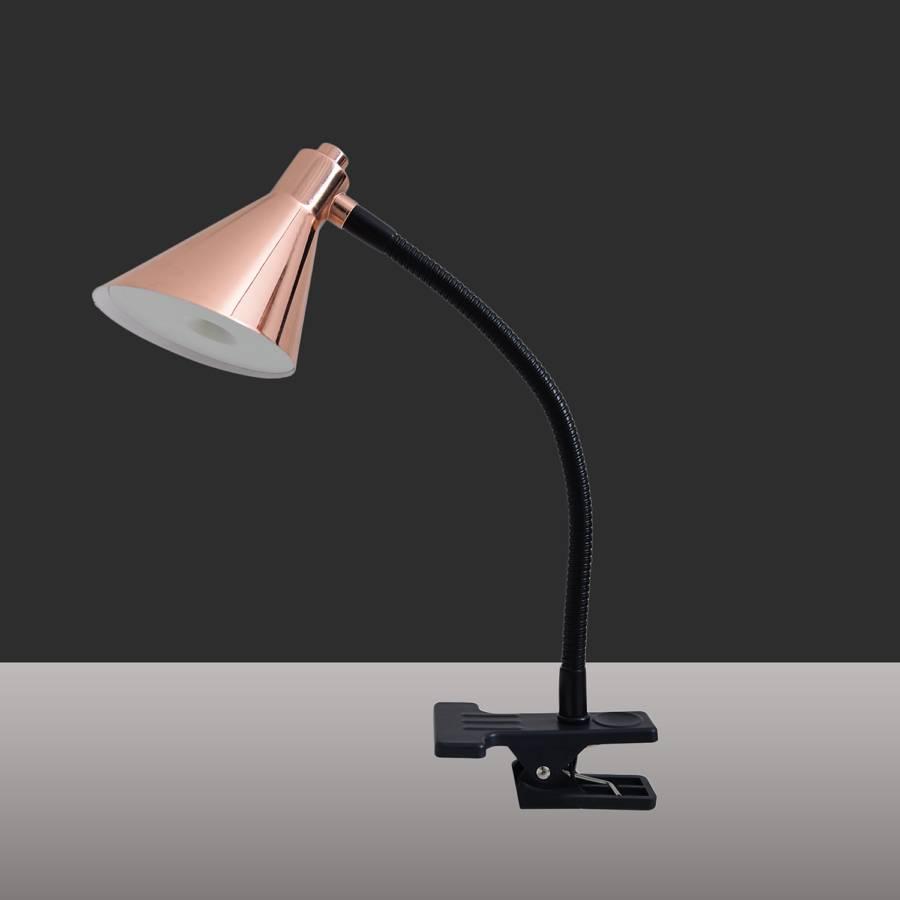 De Acier1 Led Lampe Table I Cooper Ampoule 45Aj3LR