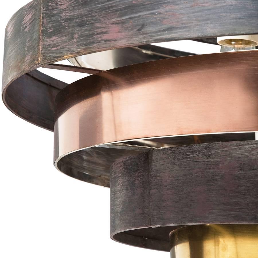 Pendelleuchte Coffee Stahl6 flammig Belt Round 0kNX8wnOP