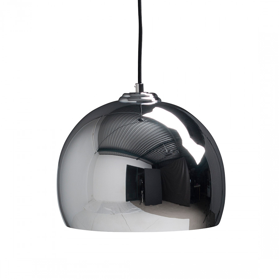 Pendelleuchte Big Glow - Metall Chrom | home24