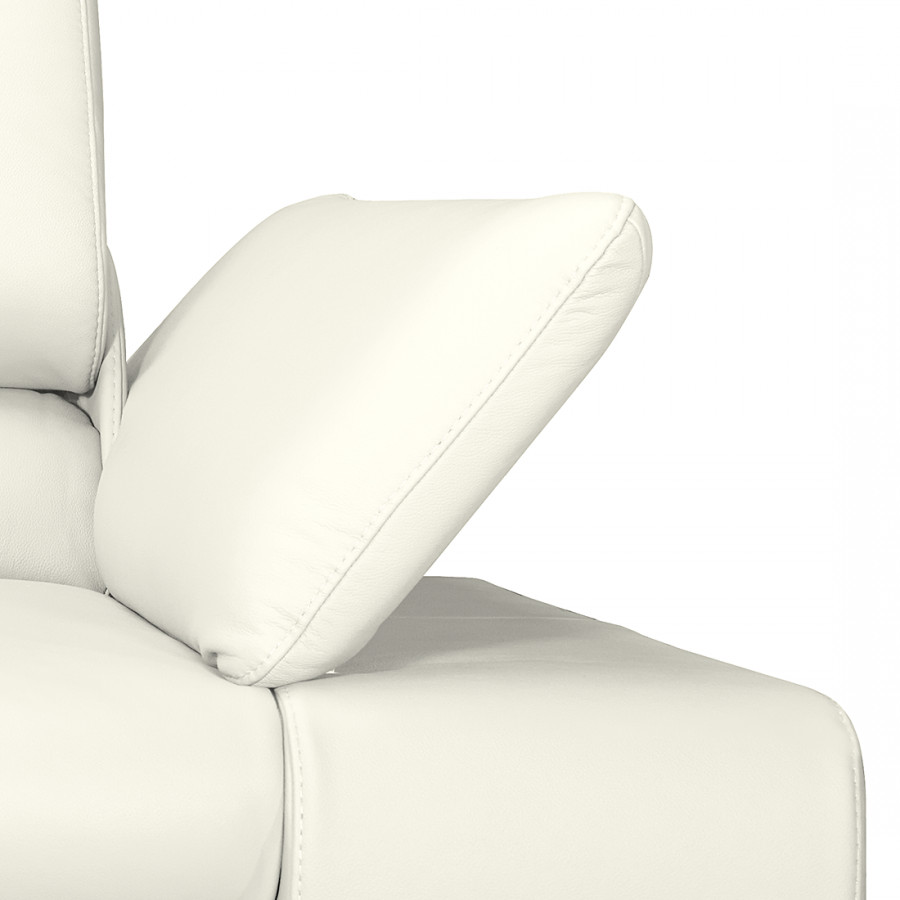 Canapé Panoramique Blanc 2Imitation Cuir Masca3 rCxoWBed
