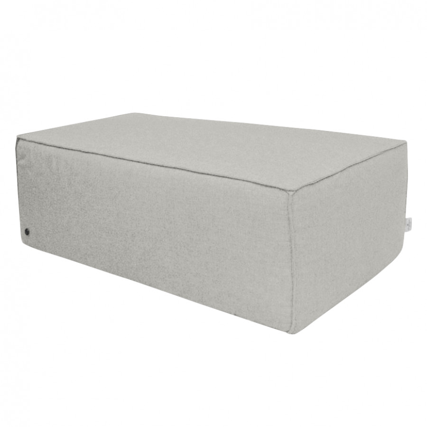 Cube Powder Stoff Webstoff Big Grey Tbo39 Polsterhocker 54LSA3Rcqj