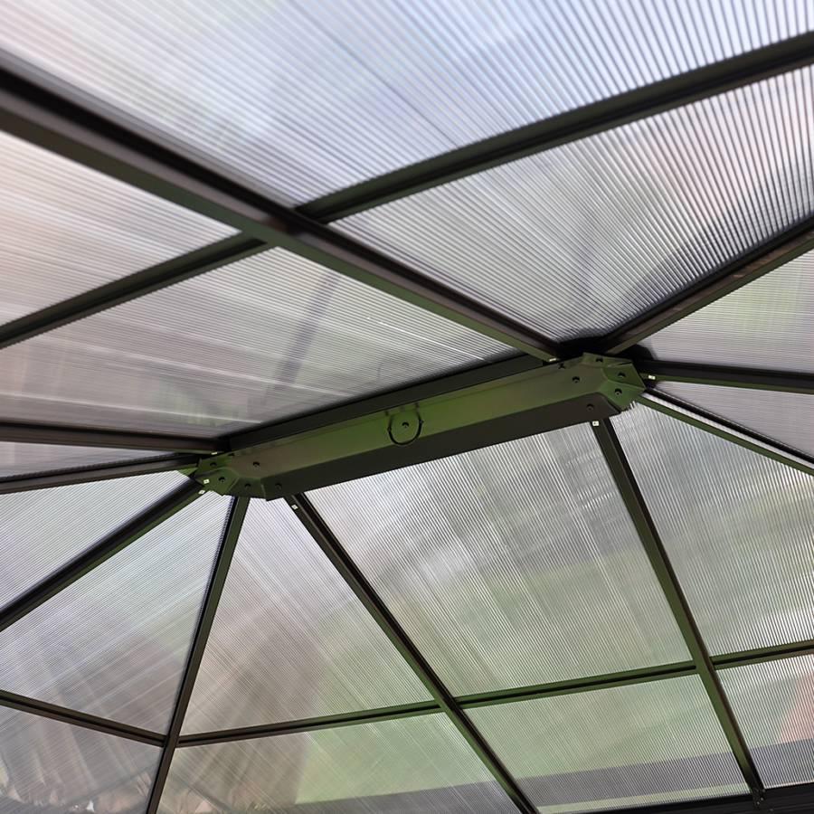 Bos PolyesterAnthracite Profi AluminiumMatériau Synthétique Naturel Pavillon 35RjL4A