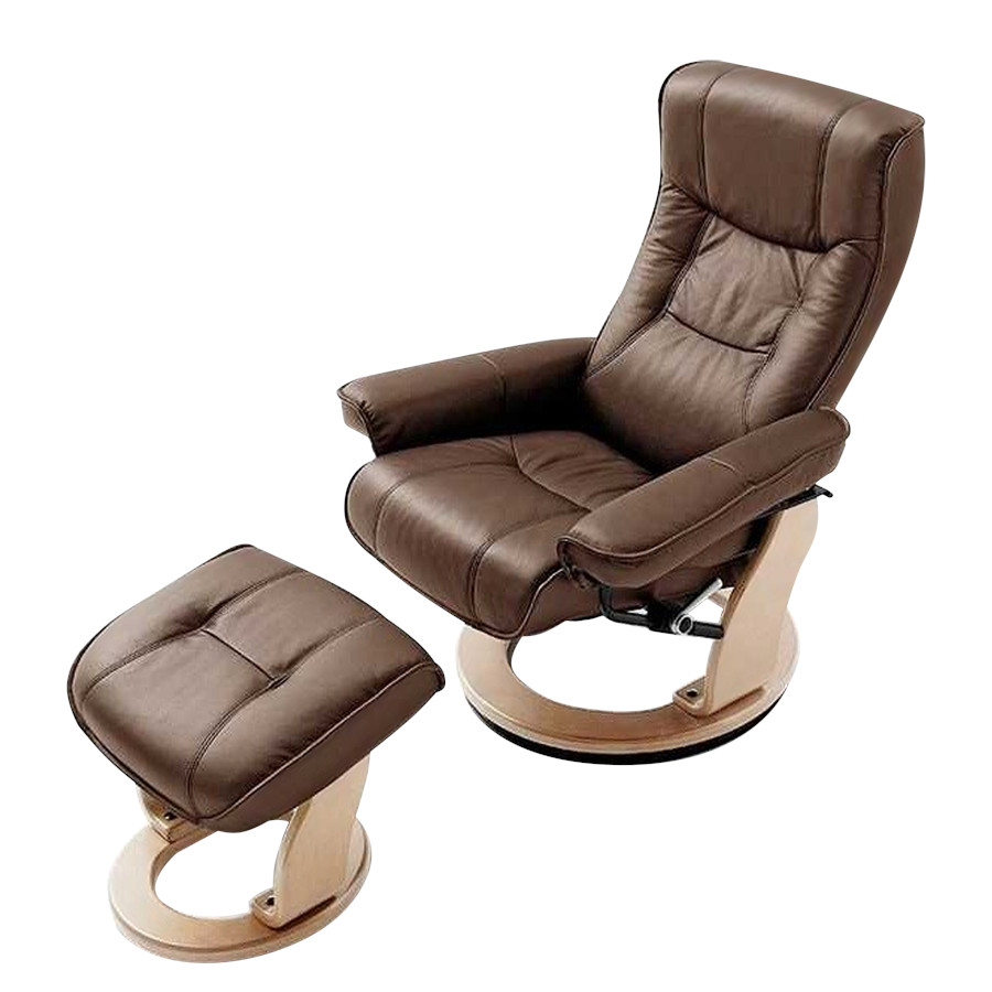 Fauteuil relaxation Odenwald marron