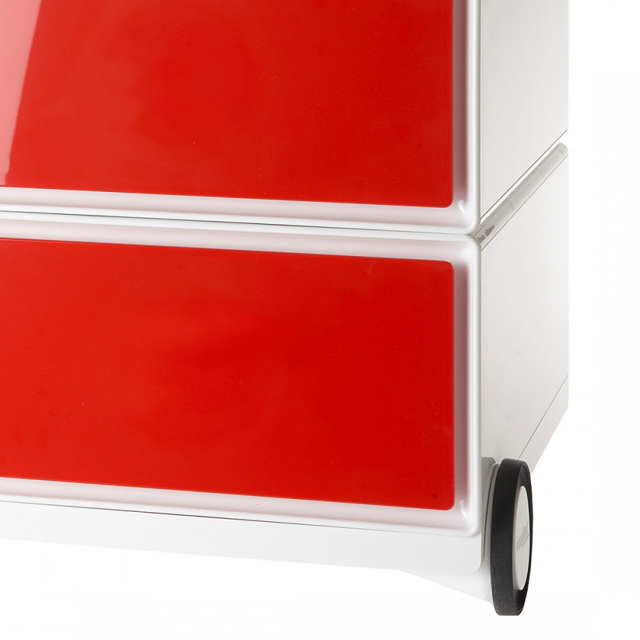 Rollcontainer WeißRot Rollcontainer Ii Easybox Easybox uKJlc35T1F