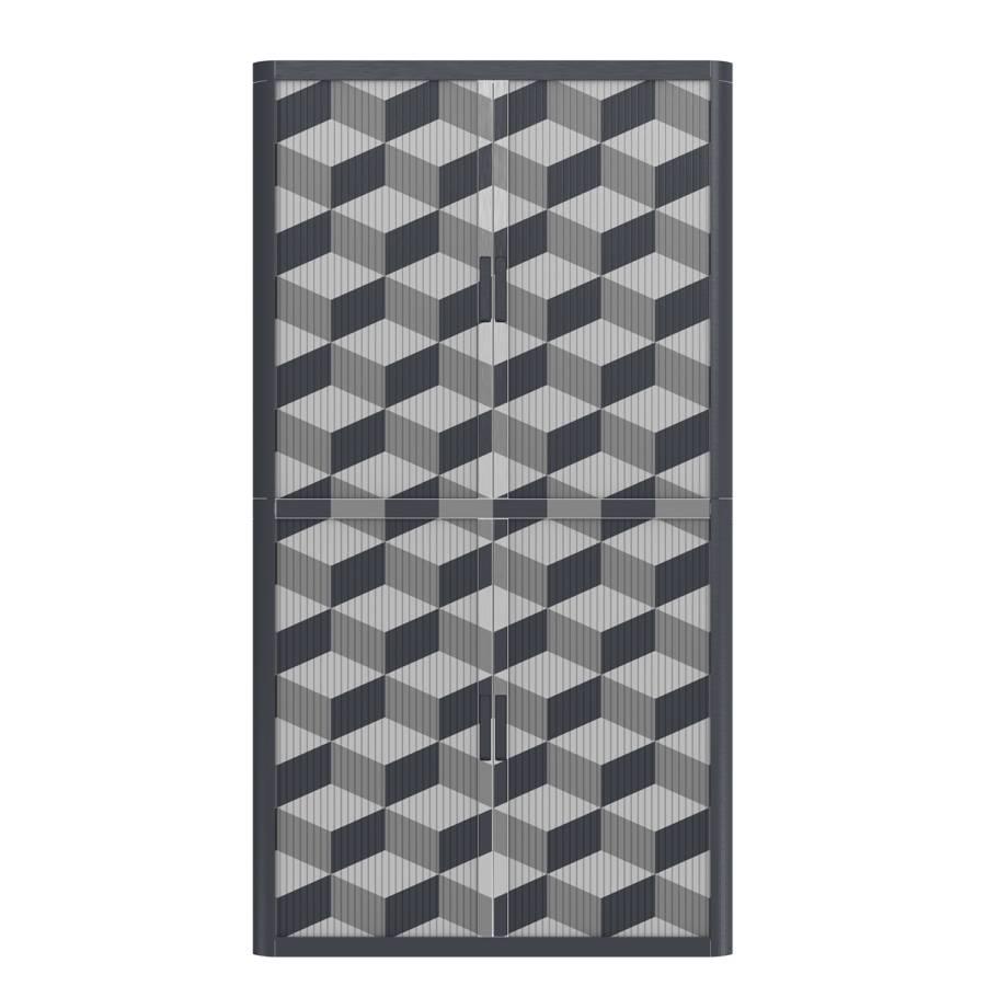 Grau Easyoffice Aktenschrank Geometrique Aktenschrank Iii Nn80wmv