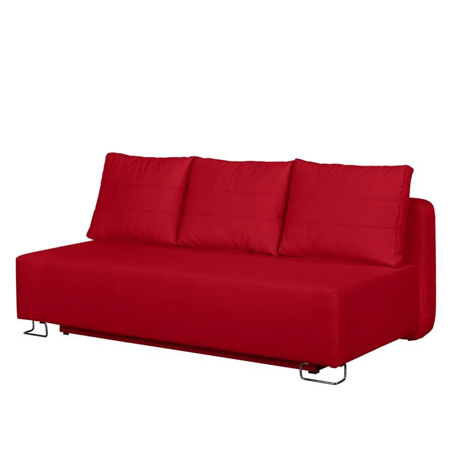 Schlafsofa Vernia Webstoff Rot Vernia La Rot Schlafsofa La Webstoff wn08XOPk