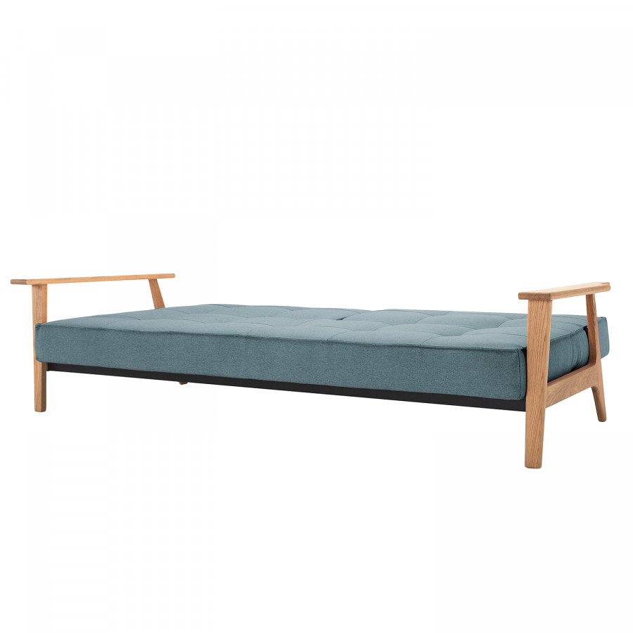 Frej I Mixed Splitback DanceLight Webstoff Stoff Blue Schlafsofa D9HW2IE