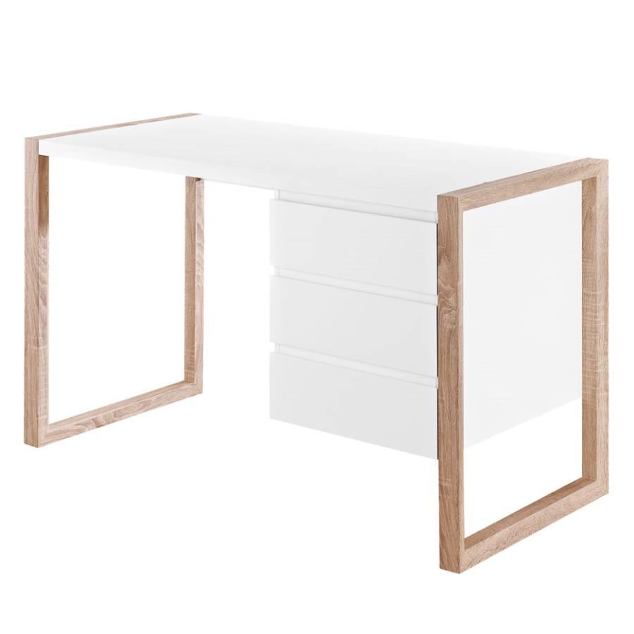 Avusy eiche Weiß Sonoma Schreibtisch Dekor 29WeHIYED