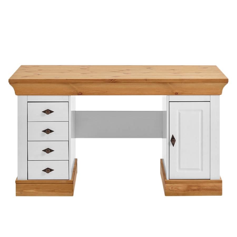 Schreibtisch weiß landhaus  Schreibtisch Bergen