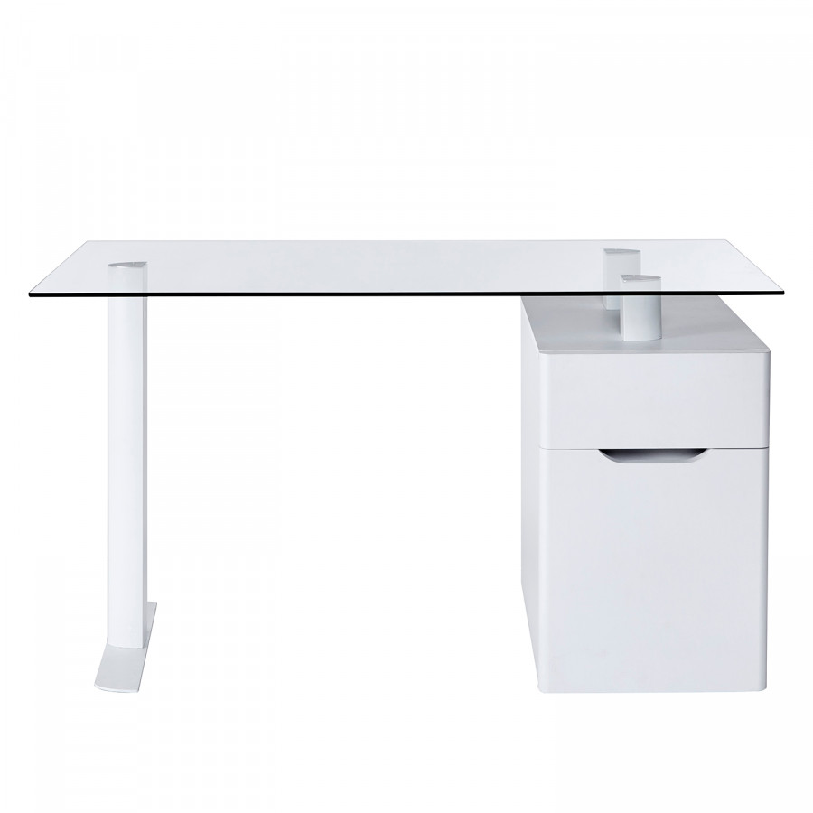13 GlasStahlMatt Weiß Schreibtisch Cu libre kuTiwlXOPZ