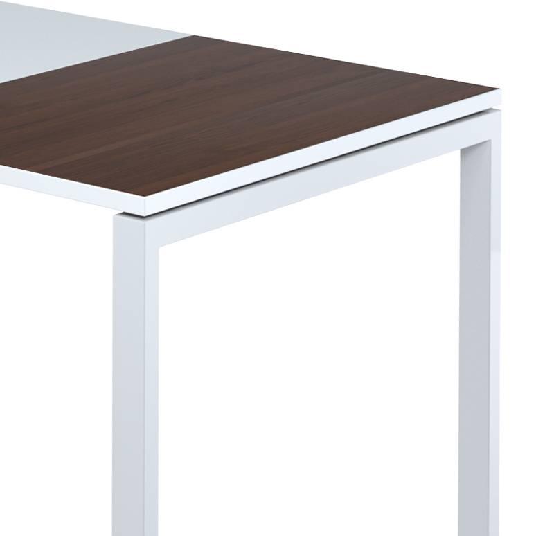 Schreibtisch CmWeißWenge 140 80 Easydesk X PTZiuXkwO