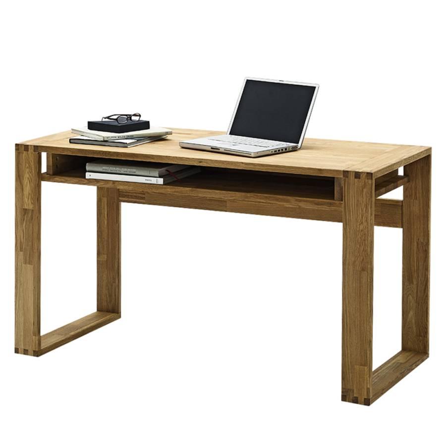 Schreibtisch Eiche Massiv schreibtisch lumberjack aus geöltem massivholz kaufen | home24