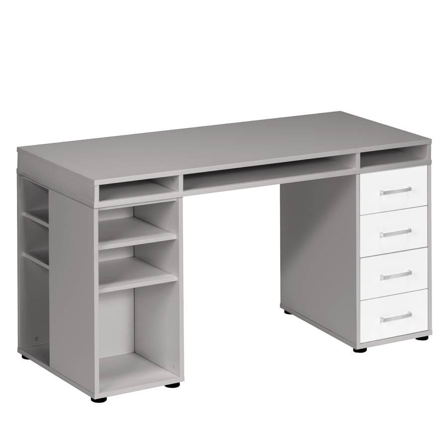 PlatingrauAlpinweiß Magic Schreibtisch Schreibtisch Magic Schreibtisch Xii PlatingrauAlpinweiß Xii CBedox