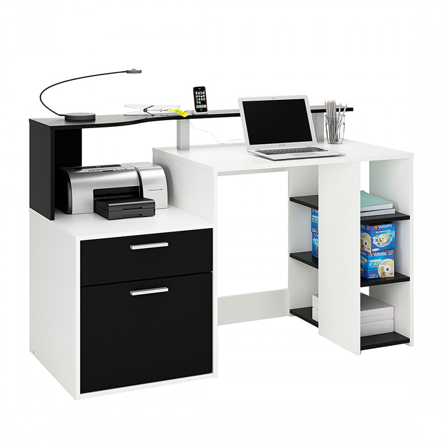 Marseille Marseille Schreibtisch Weiß schwarz Schreibtisch Schreibtisch Weiß schwarz 1JcKlF