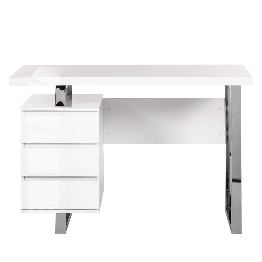 Weiß 1 Paddington LackiertMit Container Schreibtisch Hochglanz 2EIHD9