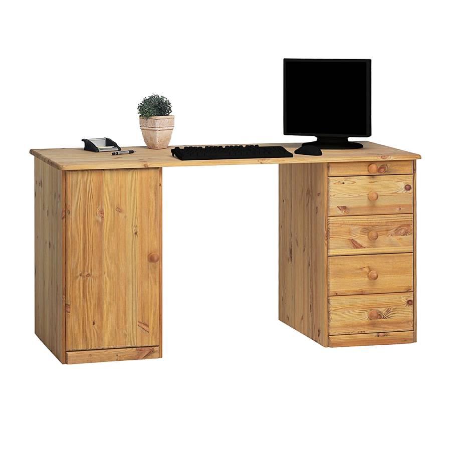 Schreibtisch Schreibtisch Phillina Kiefer MassivGelaugt Phillina PXuOkZi