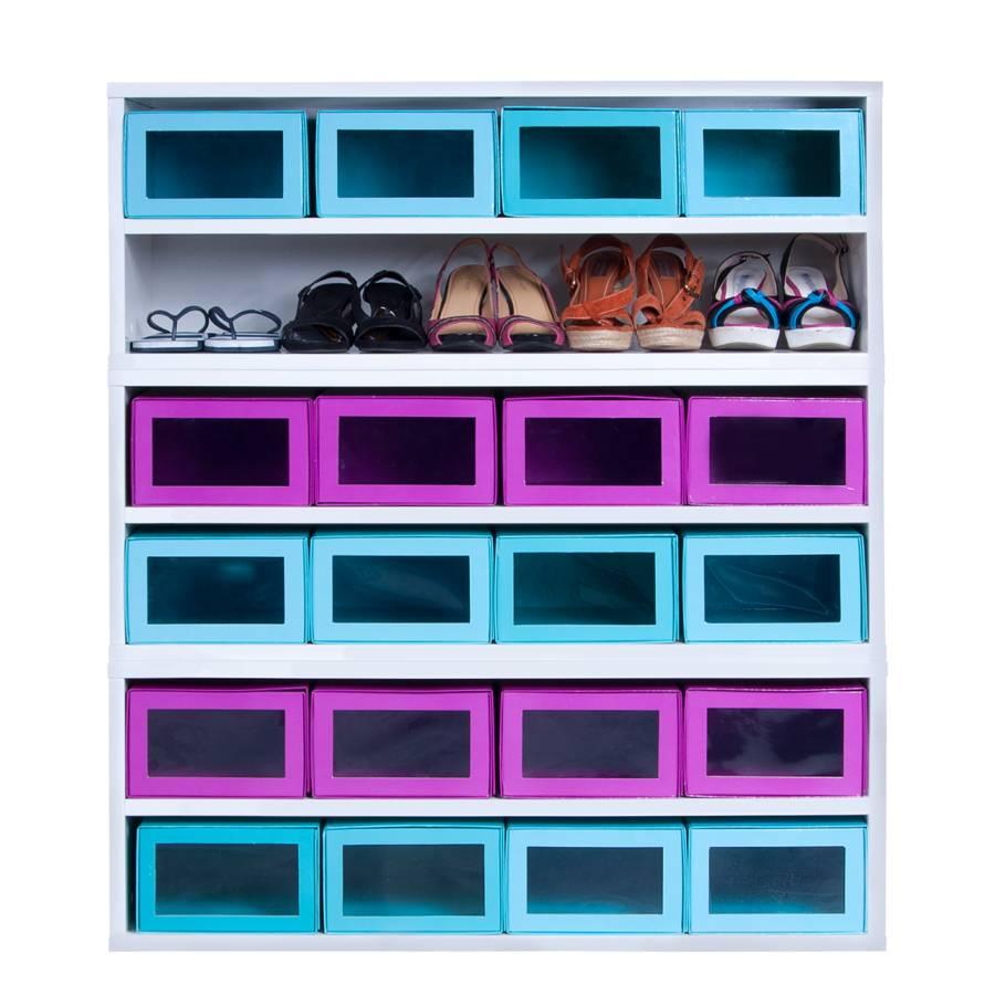 À Box Iii Brillant Chaussures Meuble Base Blanc lFJK1Tc3