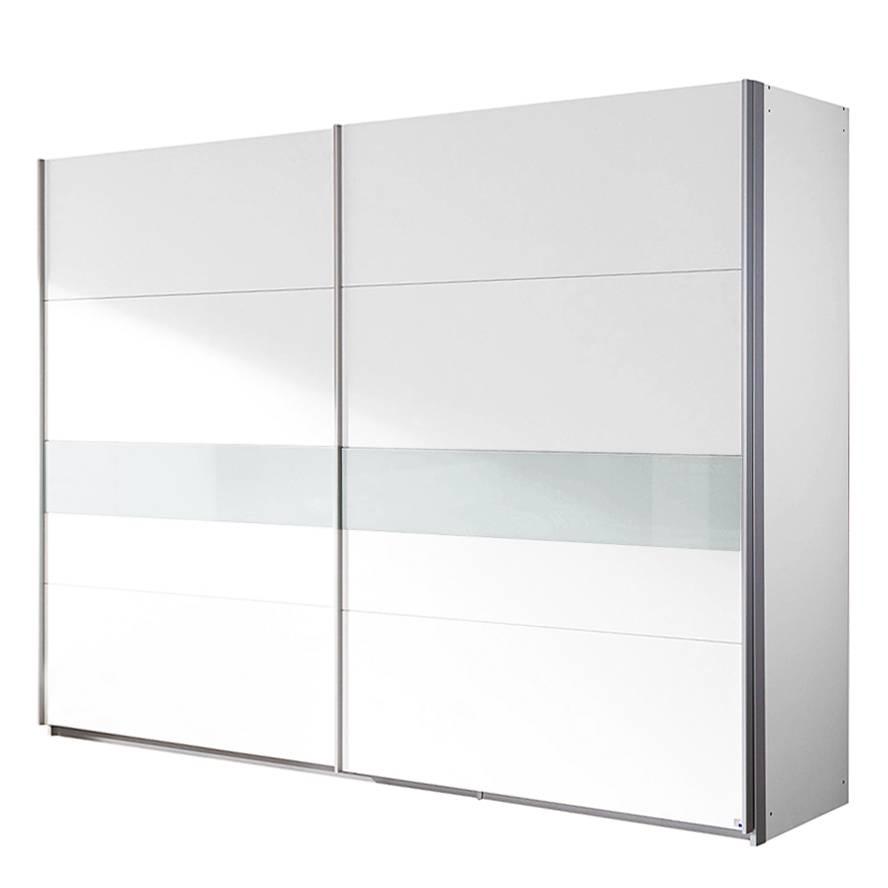 Wunderschön Schwebetürenschrank 2 M Sammlung Von Schwebetürenschrank Narbonne - Alpinweiß/glas Weiß - Schrankbreite: