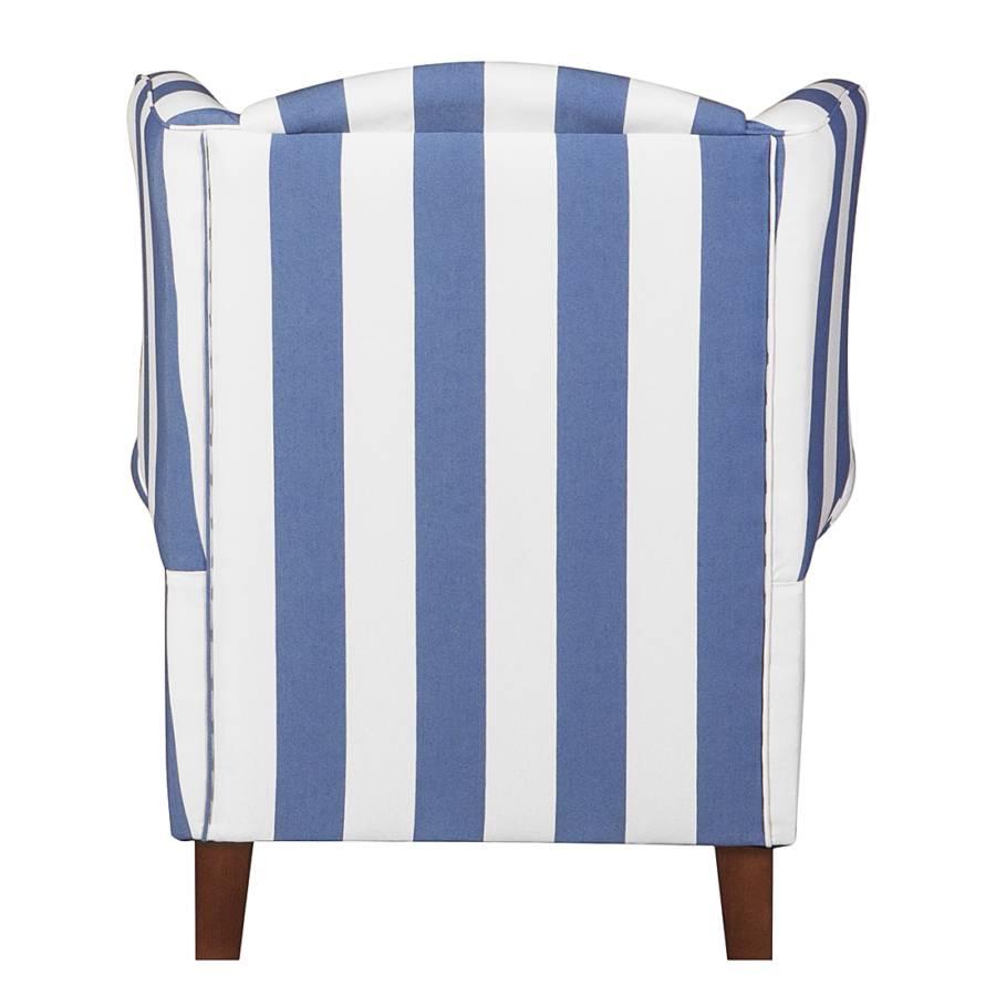 GestreiftMit Sessel Colmar Blau Hocker Webstoff 9EDHYW2I