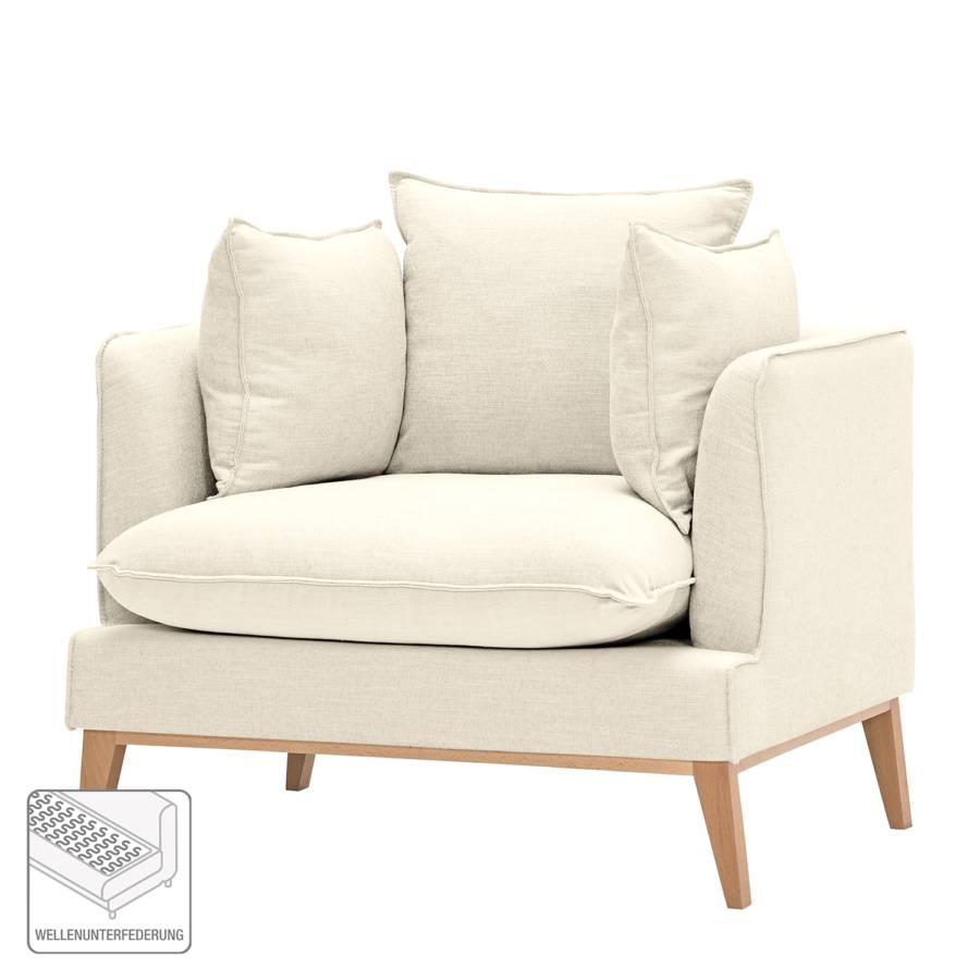 Webstoff MoreteyCremeweiß Sessel Stoff I Lavina mvONnwy80