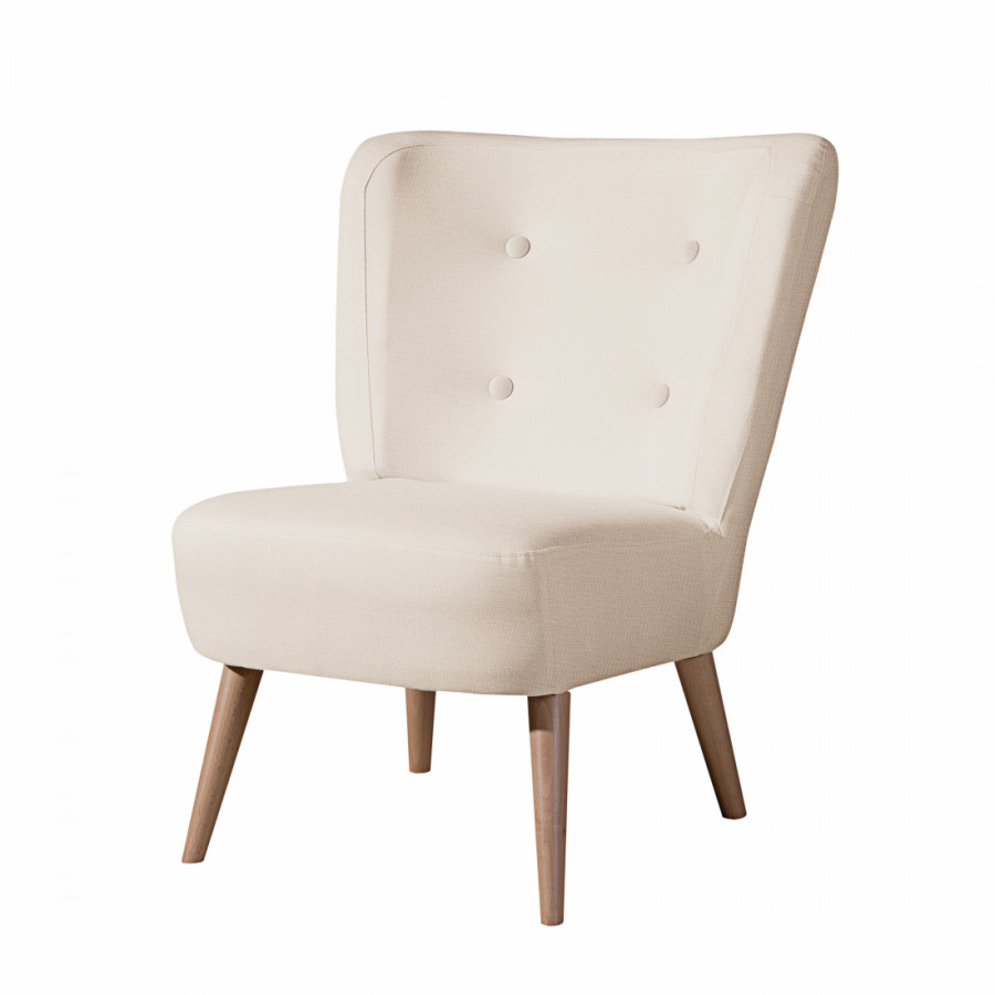 Sessel Mary   Stoff Beige