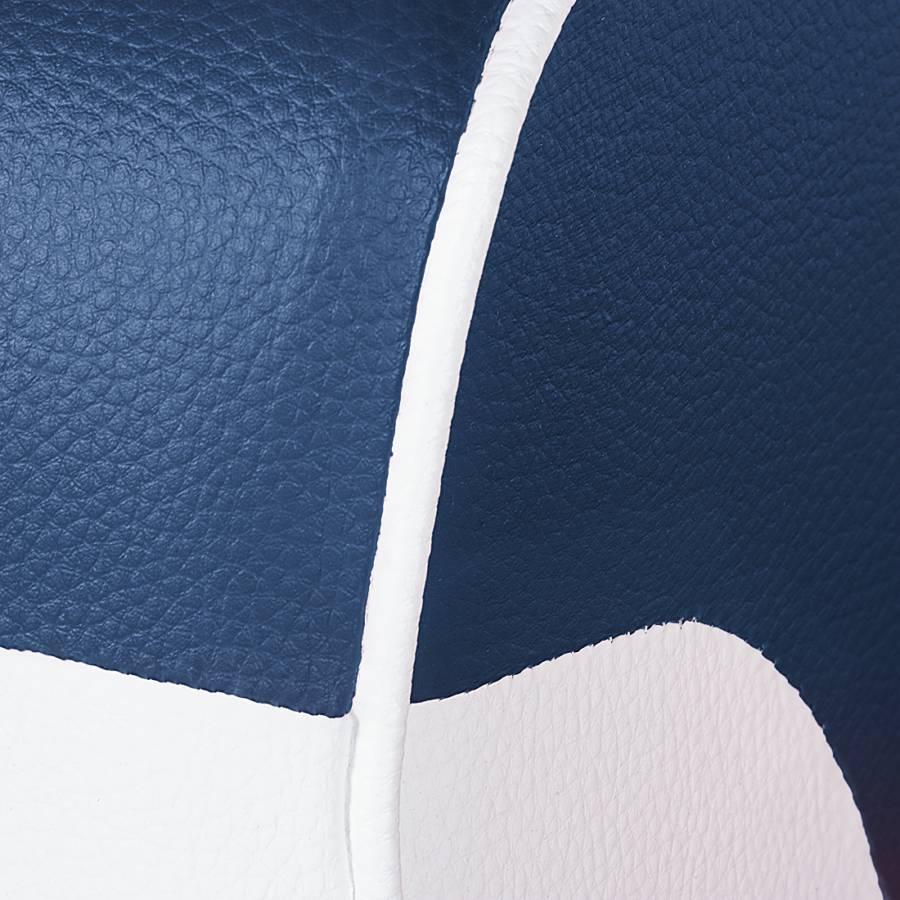 Nixa dunkelblau Kunstleder Sessel dunkelblau Weiß Nixa Sessel Kunstleder Sessel Nixa Kunstleder Weiß stQohxBrdC