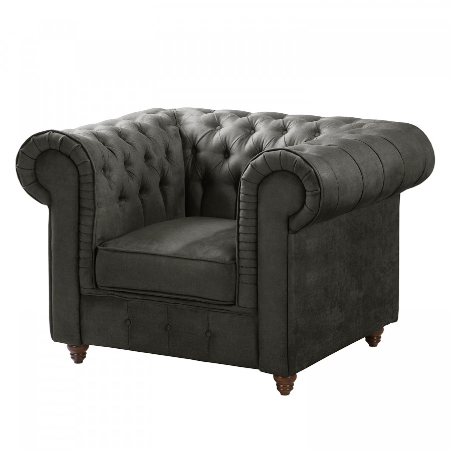Twee Chesterfield Fauteuils.Fauteuil Chesterfield Pintano