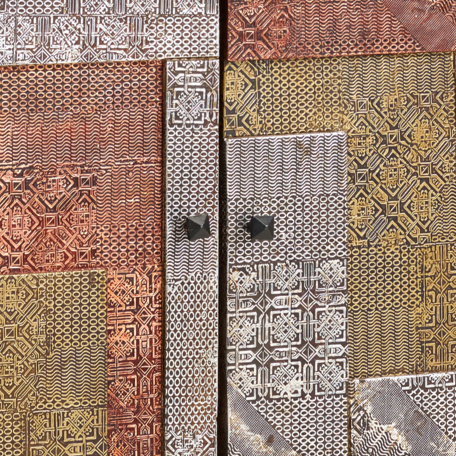 MassivMetallMehrfarbig Sideboard Orient Sideboard MassivMetallMehrfarbig Akazie Sideboard Orient Akazie Orient lKTc3FJ1
