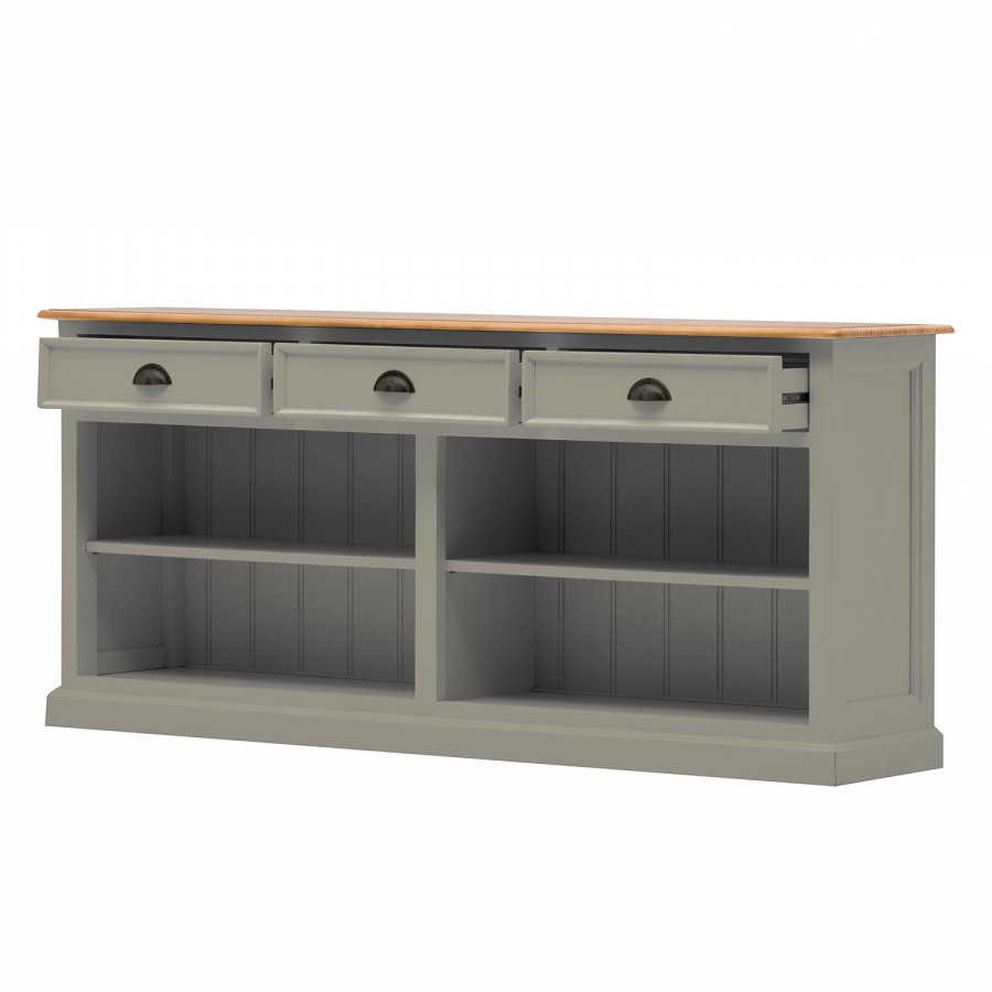 Honig Schwarz GranitPinie Sollerön Sideboard Ii Y6g7ybf
