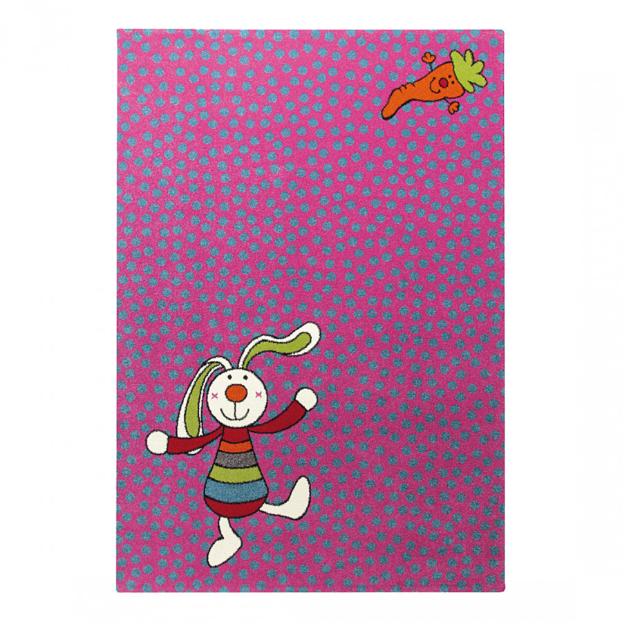 Rainbow X Rabbit Cm Rose Tapis 170 Vif120 Pour Enfant TFJ1Kc3l