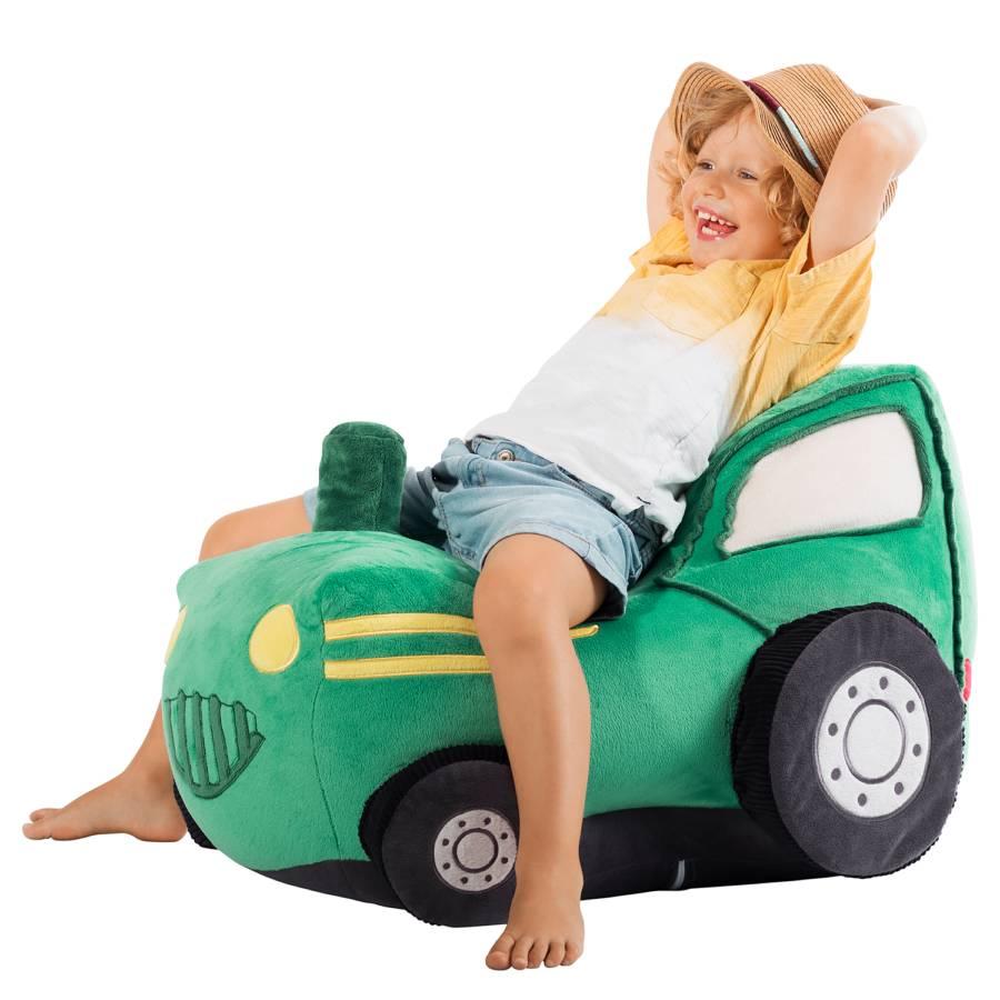 Kidding Sitzsack Traktor Sitzsack WebstoffGrün Traktor Kidding WoderCxB