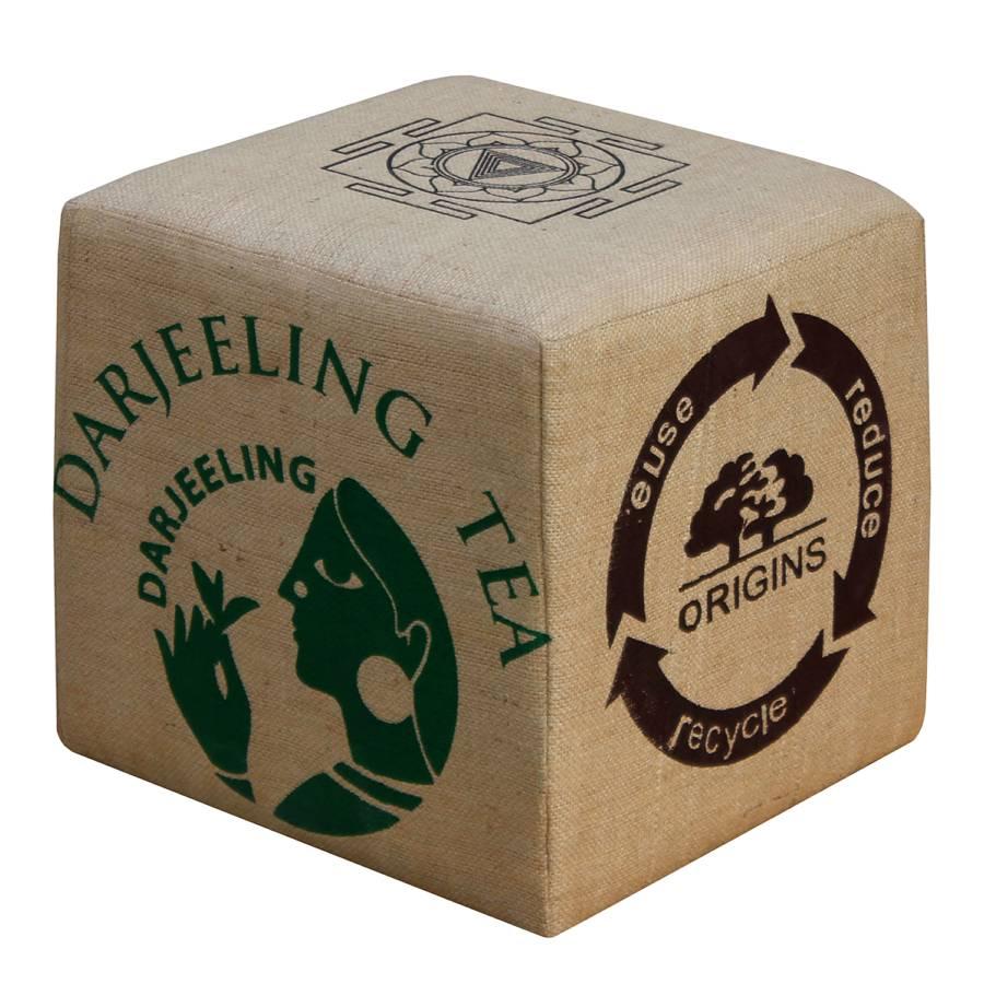 Pouf Gasim Pouf Cube Cube JuteBeige rCWdExoBQe