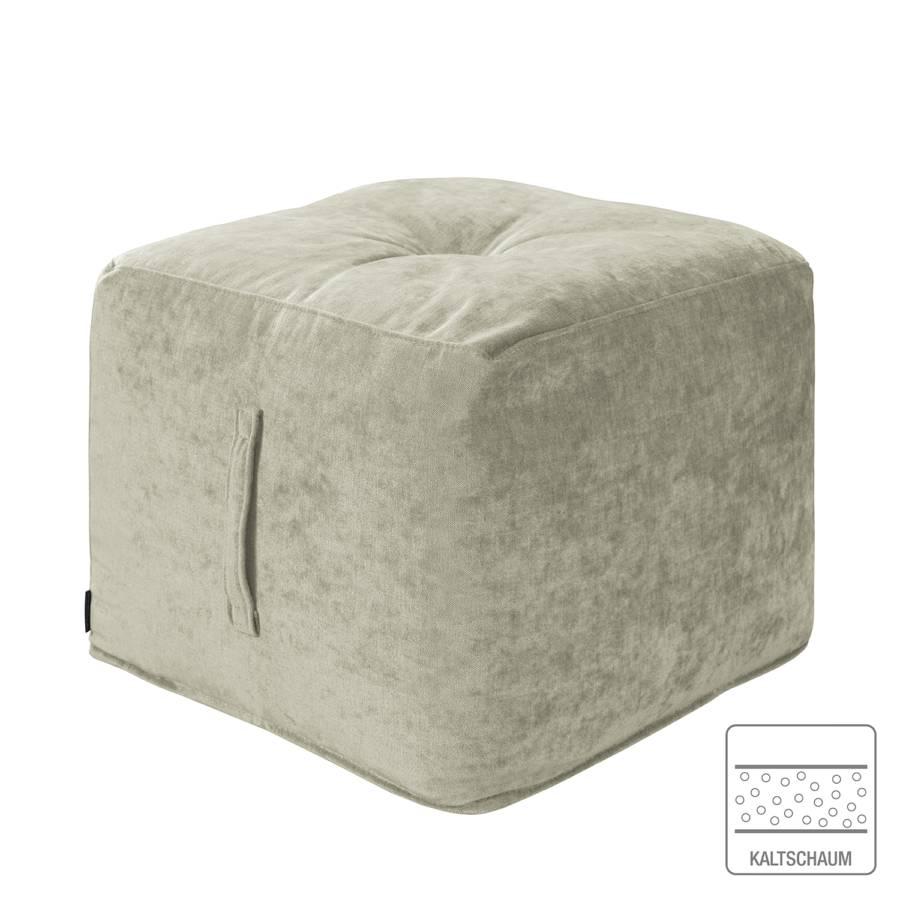 Piton Grau Samt Piton Sitzwürfel Sitzwürfel Samt Xk8Pnw0O
