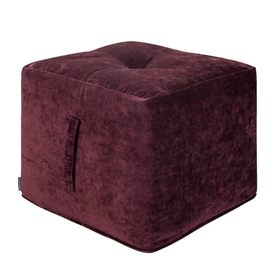 Zwetschge Sitzwürfel Piton Samt Piton Sitzwürfel v0wONm8n