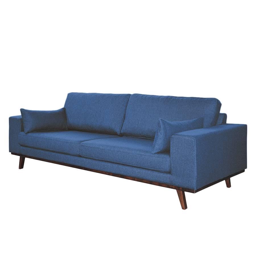 Sofa Jeansblau Billund3 Sofa Billund3 sitzerStrukturstoff WerdBoCx