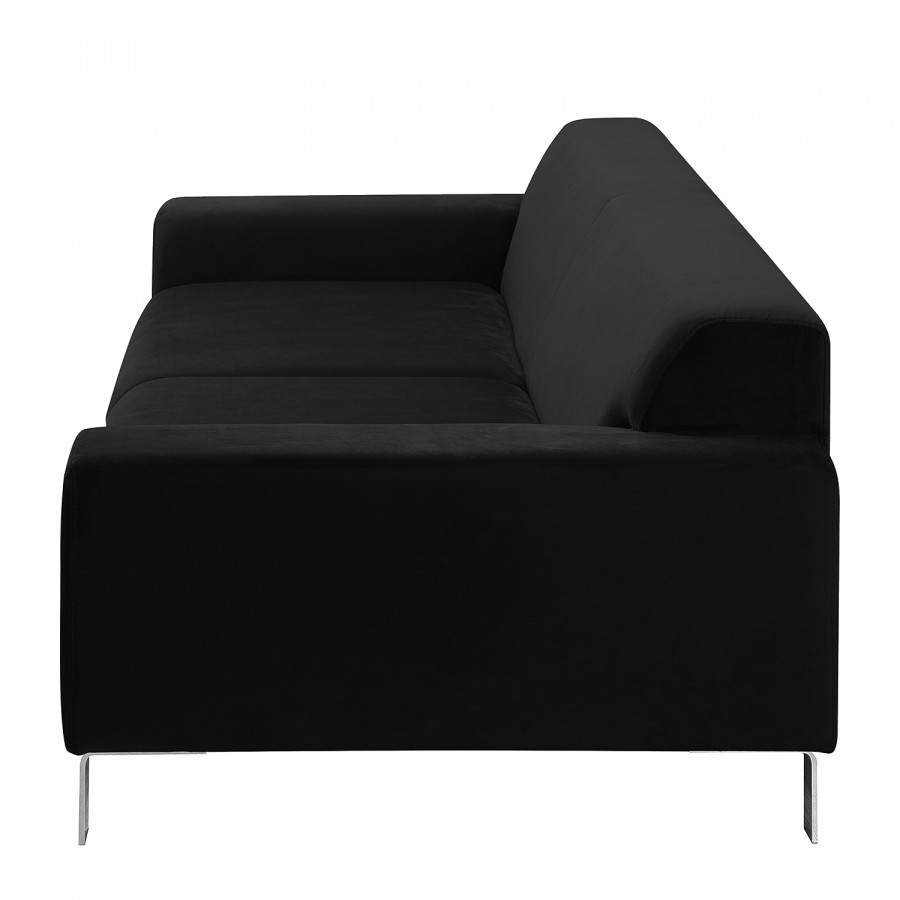 Schwarz Sofa Sofa Bordon3 Bordon3 sitzerSamt EI9YWD2H