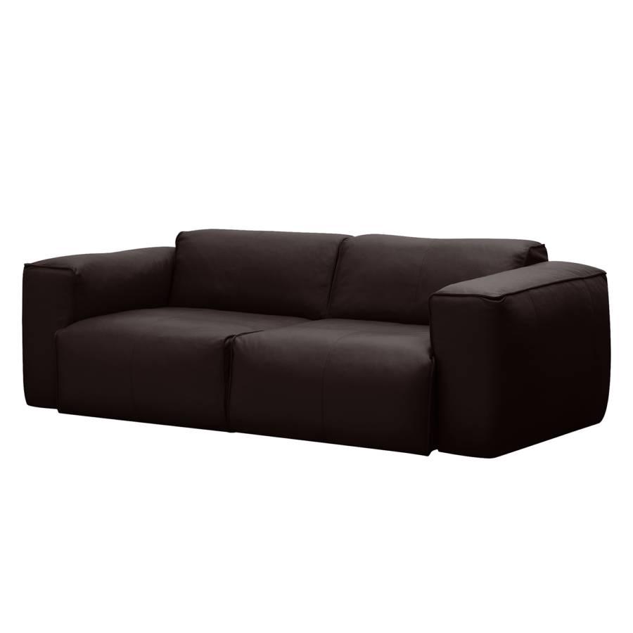 Faszinierend Couch Echtleder Dekoration Von Sofa Hudson (2-sitzer) - Neka: Dunkelbraun