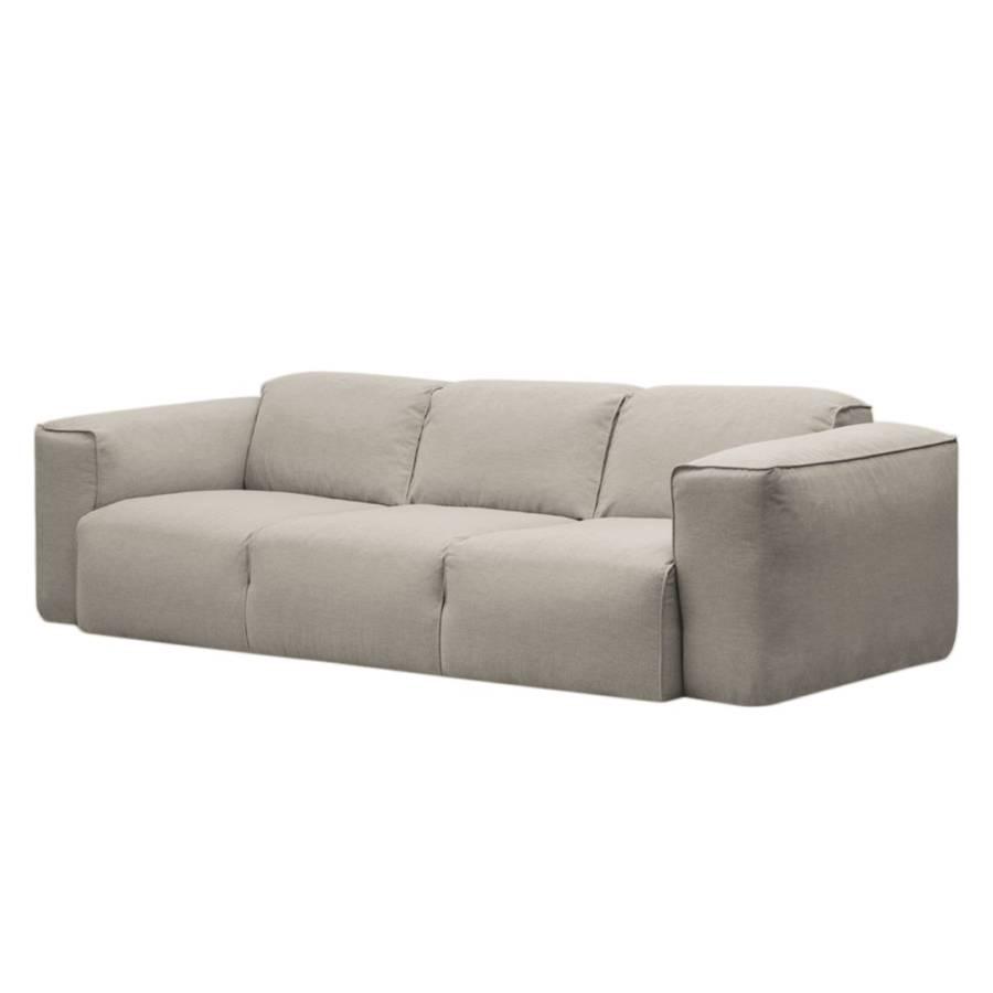Sofa Hudson I (3 Sitzer) Webstoff   Stoff Saia Beige