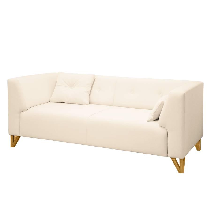 Ongar HockerCreme Sofa Ii2 sitzerWebstoff Mit 1JKTclF