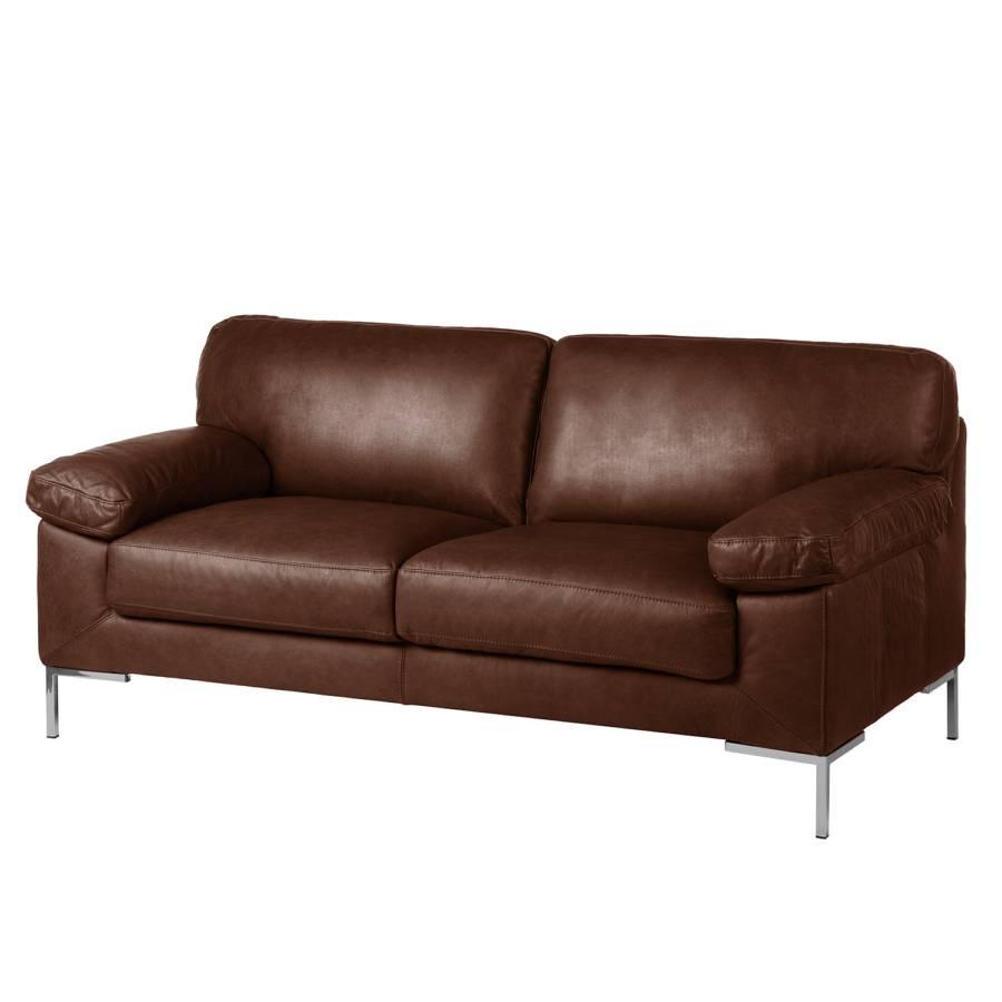 Amüsant Couch Echtleder Foto Von Sofa Parlin (2,5-sitzer) - Mokka