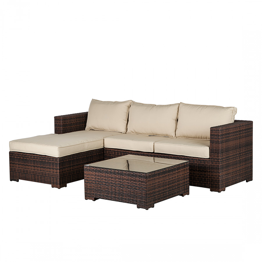 gartenm bel polyrattan braun yp58 kyushucon. Black Bedroom Furniture Sets. Home Design Ideas