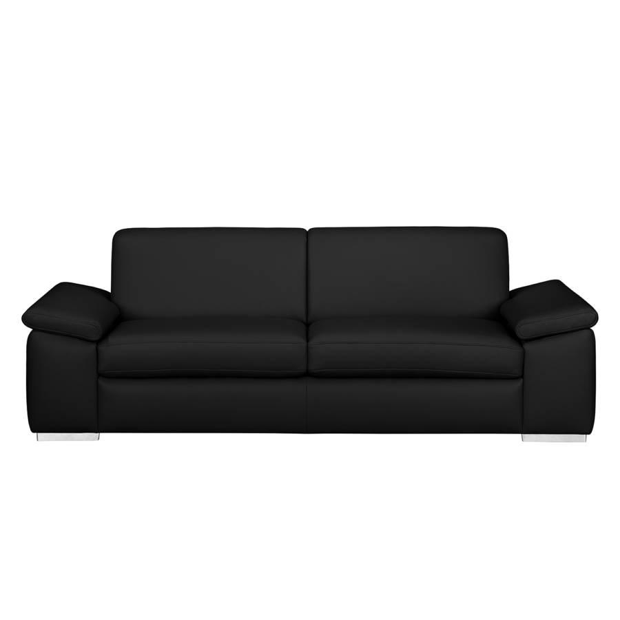 sitzerEchtleder Iii3 Schwarz Sofa Termon WE9DIH2