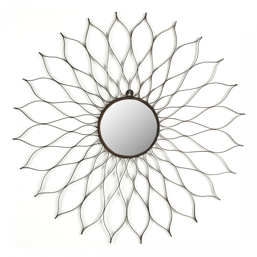 Flower Spiegel Flower Spiegel Spiegel Spiegel Flower Grau Grau Grau IYfyg76vb