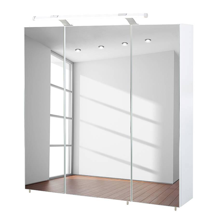 Sympathisch Spiegelschrank Ohne Beleuchtung Dekoration Von Dusty I - Hochglanz Weiß - 80