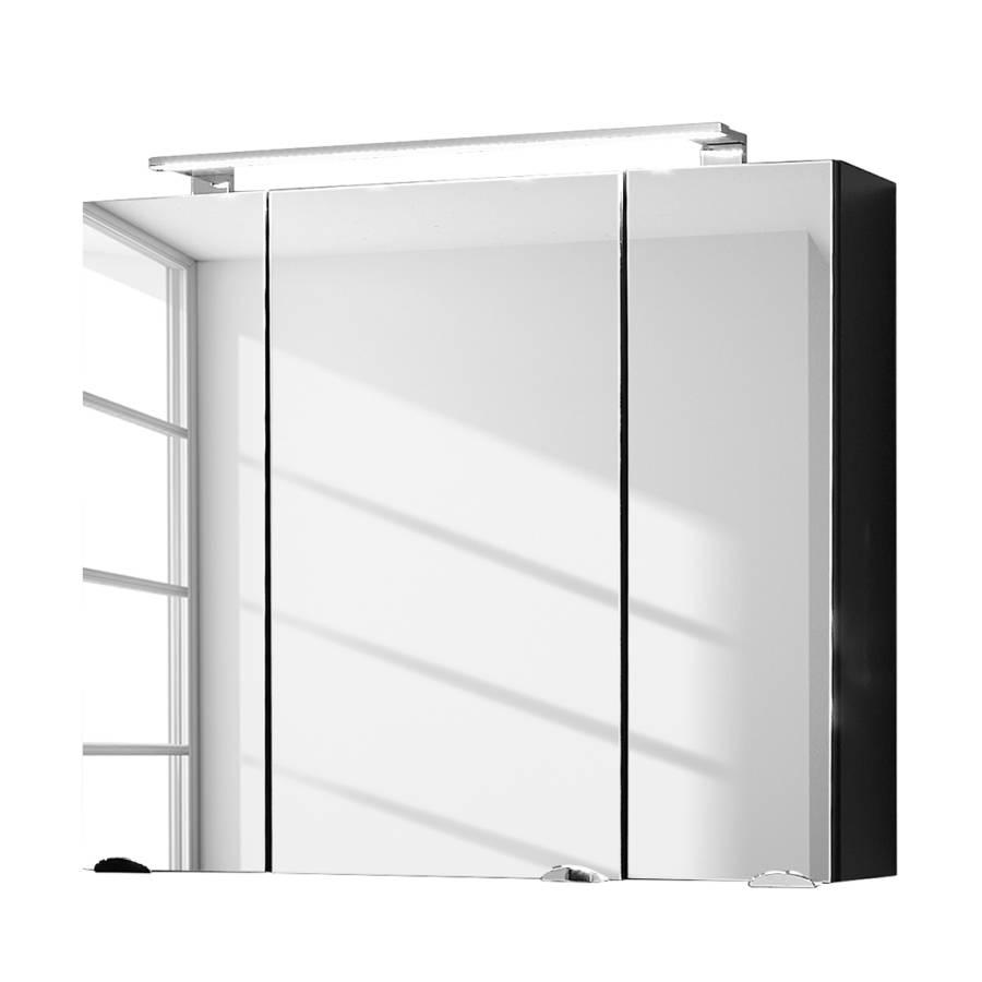 Bezaubernd Spiegelschrank 3 Türig Das Beste Von Vibrant - Anthrazit, 3-türig